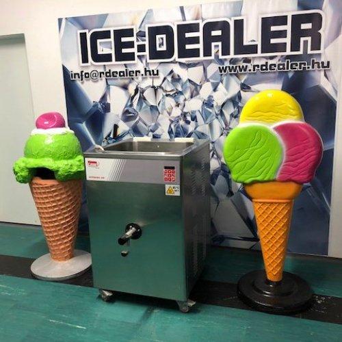 CRM Supermix 120 fagylaltfőző, pasztörizáló