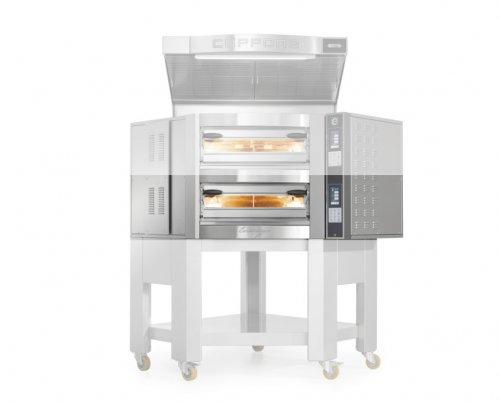 Cuppone Caravaggio TS elektromos pizzakemence 1 aknás CR835/1TS