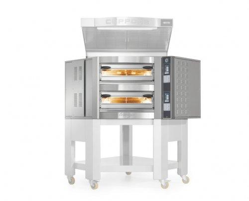 Cuppone Caravaggio TS elektromos pizzakemence 2 aknás CR535/2TS