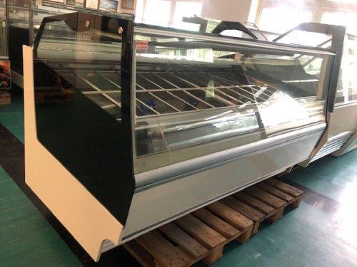 Frigomeccanica Prima 12 +12, 24 tégelyes fagylalt vitrin, fagylaltpult